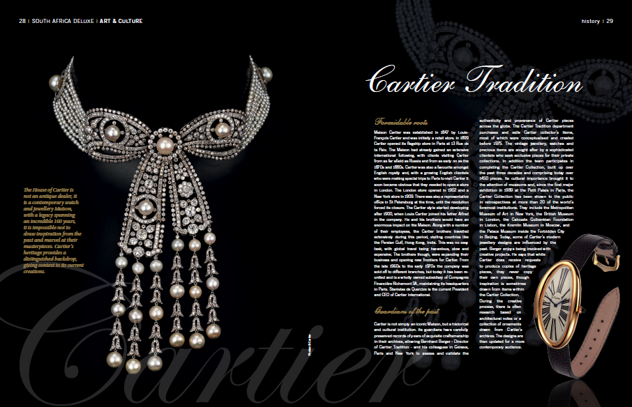 A look at Cartier's Tradition Department