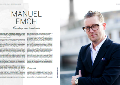 Manuel Emch Interview