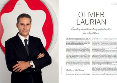 Olivier Laurian Interview
