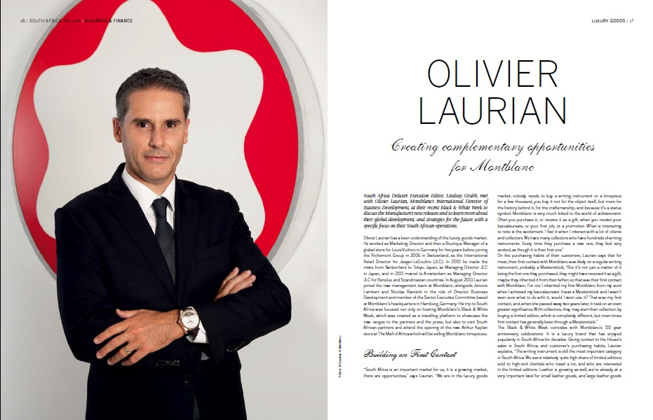 Interview with Olivier Laurian