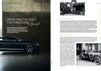 Satisfying the need for power and speed – Bentley