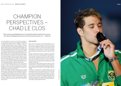 Champion Perspectives Chad Le Clos