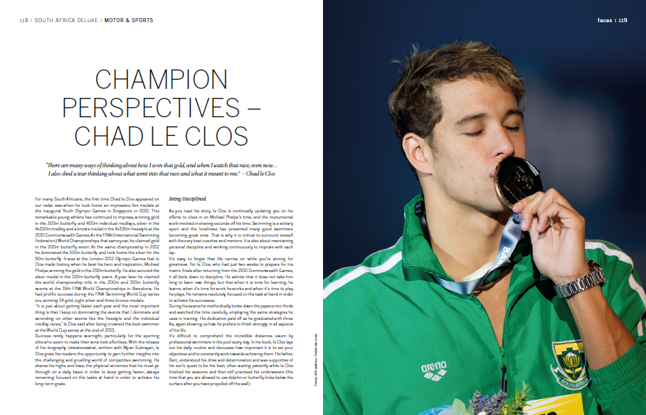 Champion Perspectives Chad Le Clos by Lindsay Grubb