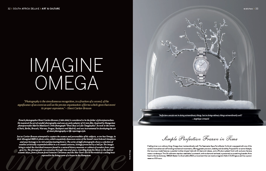 A visual feast of some of Omega's most exquisite timepieces