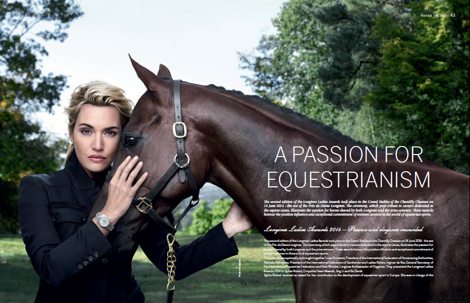 Longines is a proud supporter of equestrianism worldwide, a feature by Lindsay Grubb
