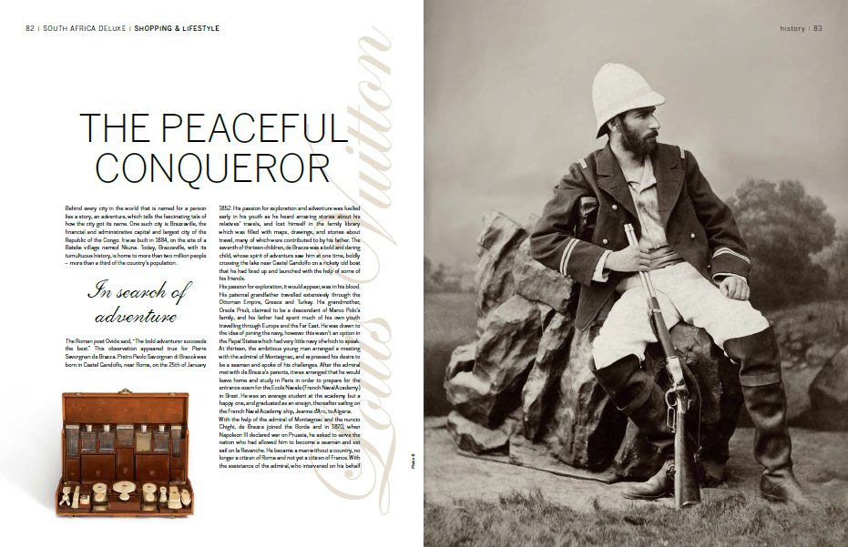 Louis Vuitton the Peaceful Conqueror a feature by Lindsay Ann Grubb