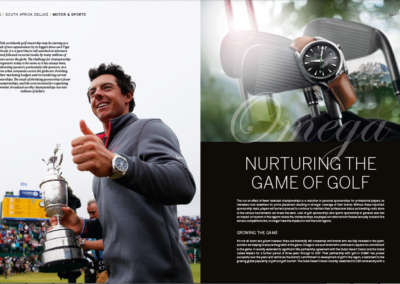 Omega Nurturing the Game of Golf