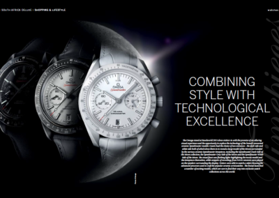 Omega Combining Style with Technological Excellence