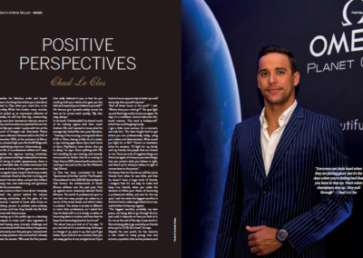 Positive Perspectives Chad Le Clos Interview